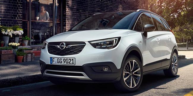 Leasing Opel Crossland X en LOA ou LLD