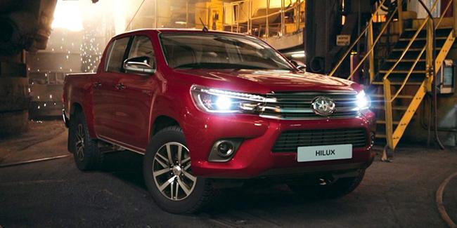 Leasing Toyota Hilux en LOA ou LLD