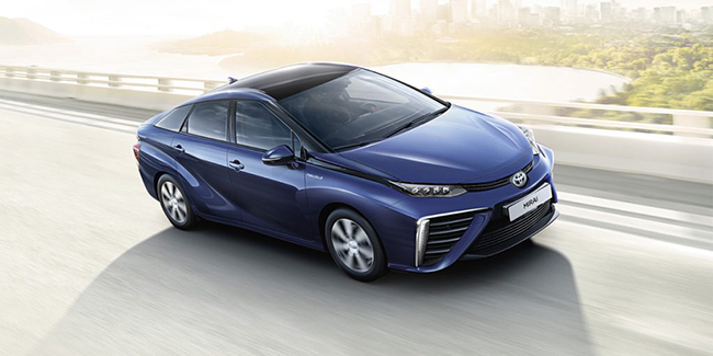 Leasing Toyota Mirai en LOA ou LLD