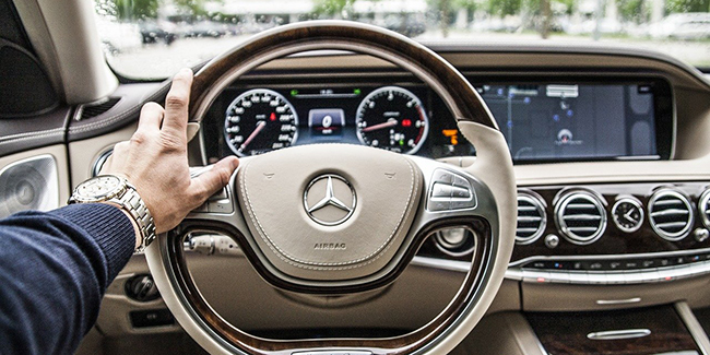 Assurance auto pour une Mercedes